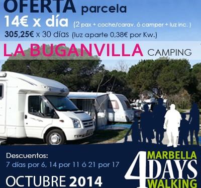 OFERTA MARBELLA 4DAYS WALKING
