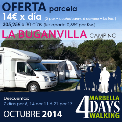 OFERTA MARBELLA 4DAYS WALKING
